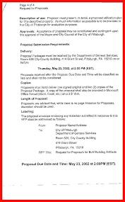 Rfp Response Cover Letter Sample   Nfcnbarroom.com