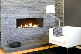 gas stone fireplace modern gas fireplace logs surface of stone veneer fireplace black white fabric modern