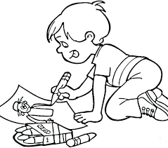 Excellent Boy Coloring Page Picture Anime Boy And Girl Coloring