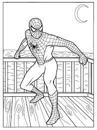Disegni Di Carnevale Per Bambini Spiderman Disegni Da Colorare