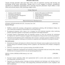 resume samples for property managers  corezume coresume  residential property manager resume samples