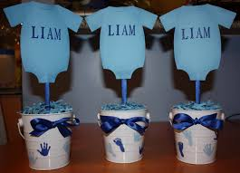 Baby Shower Centerpieces Boy Baby Shower Centerpieces For The Tables Dont Sweat The