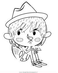 Disegno Floopaloo Matias Personaggio Cartone Animato Da Colorare