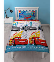 disney cars 3 lightning single duvet
