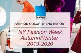 Fashion Color Trend Report New York Fashion Week <b>Autumn</b> ...