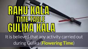 Timings For Success Rahu Kalam Yamaganda Kalam Gulika Kalam And Their Significance
