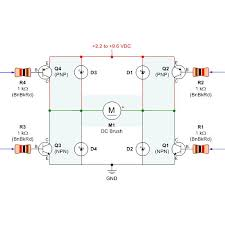 simple dc brushless motor driver control regulator circuits diagram h bridge