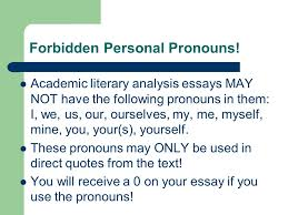 common essay errors flood essays individual forbidden personal  2 forbidden personal pronouns