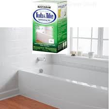 Details About Rust Oleum Bathtub Title Tub Tile Refinish Paint Kit White Enamel Repair Sink