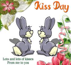 my cute kiss day ecard