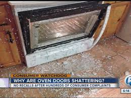 why are oven doors shattering