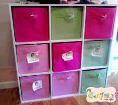 Pink And Green Girls Bedroom Girls Bedroom Clothes Storage Pink And Green My Craftily Ever After