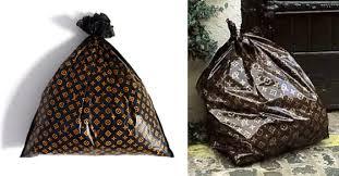 Others , 7 Lovely Louis Vuitton Trash Bags : Trash Bag Louis