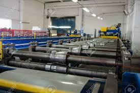 sheet metal roll metal tile manufacturing factory steel sheet metal roll profiling