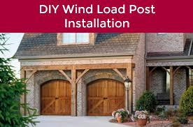 in the event that you have a hurricane heading your way you should install a wind load post on your garage door the team here at neighborhood garage door