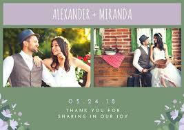 Collage Wedding Invitations Collage Wedding Thank You Cards Wedding Thanksgiving Card Wedding