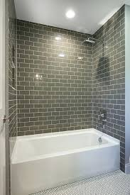 tile above shower surround tiles bathtub tiles bathroom wall tile ideas rectangle shape with grey color