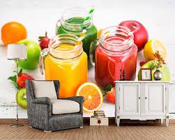 Korting Sweets Ijs Vruchten Voedsel Foto Behang Woonkamer Tv
