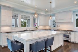 White Transitional Kitchens White Transitional Kitchen Mantoloking New Jersey By Design Line