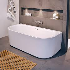 <b>Акриловая ванна Riho Desire</b> Wall Mounted 185x85 ...