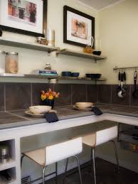 Decorating Kitchen Shelves Decorating With Floating Shelves Hgtv