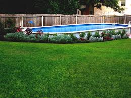 square above ground pool. Above Ground Pool Landscape Designs With Swimming Square Design Images Of Gallery Oval Shapes Landscaping E