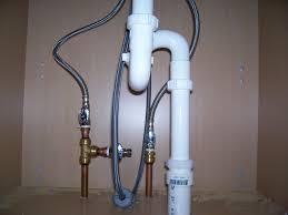 45 Sink Water Pipe Bathroom Sink Drain Plumbing Air Vent P Trap