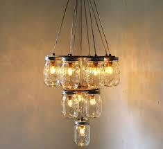 homemade lighting. DIY: Empty Mason Jars For A Beautiful Homemade Lamp Lighting Y