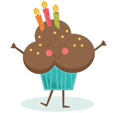 Happy Birthday Cupcake Clipart Free Clipart