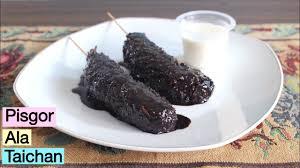 Taichan #olahanpisang #pisanggorengfla olahan pisang paling simple | sate pisang goreng taichan assalamu. Sate Pisang Ala Taichan Goreng Youtube