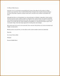 Sample Teacher Recommendation Letter Enchanting Recommendation Letter Sample For Scholarship From Teacher Poemsviewco