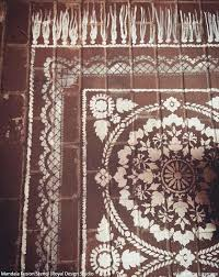 painted porch rug stencil come on in welcome guests with a stenciled porch or patio floor