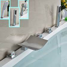 shower faucet brands how to install a bathtub awesome h sink of deck mount bathtub faucets