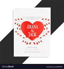 Beautiful Heart Design Beautiful Heart Wedding Card Design