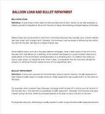 Baloon Payment Calculator Sample Balloon Loan Calculator 9 Documents In Pdf