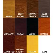 General Finishes Color Chart Different Color Wood Stains Wood Stain Color Chart Hardwood