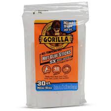 gorilla hot glue sticks