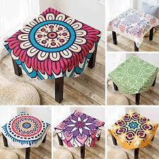uus southeast asian style square tablecloth good cotton cloth fabric cotton linen tablecloth small round tablecloth