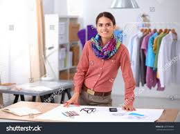 Fashion Designing Boutique Jobs Young Fashion Designer Working Studio Stock Photo Edit Now