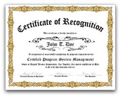 Sample Certificate Award Selling Certificate Award Prints And Recognition Corporate
