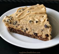 chocolate chip pie. Brilliant Chip Glutenfree Peanut Butter Chocolate Chip Cookie Crust Pie Inside