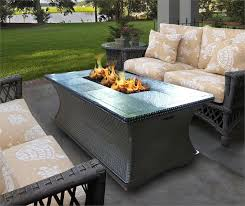 fire pit dining table. Gas Fire Pit Coffee Table Top Outdoor Pits Furniture Set Dining 2