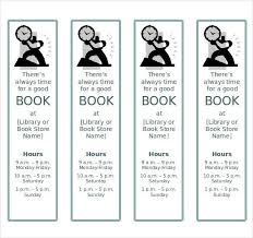 Image Result For Library Bookmark Templates Bookmark Template