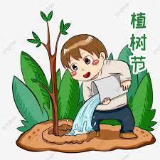 Hình ảnh Minh Họa Nhân Vật Arbor Day Cậu Bé Tưới Nước Lá Xanh Trang Trí Cây,  Nhân Vật Hoạt Hình, Arbor, Nước miễn phí tải tập tin PNG PSDComment và  Vector