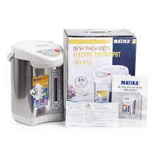 BÌNH THỦY ĐIỆN MATIKA MTK-8135 (3.5 LÍT) - Bình đun siêu tốc Nhãn hàng  Matika