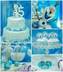 frozen themed birthday party with lots of cute ideas via kara s party ideas full of
