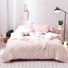 pink twin duvet cover cherry blossoms girls duvet cover set cotton pink bed sheet pillow cases pink twin duvet cover