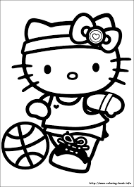 Hello Kitty Coloring Pages On Coloring Book Info Colouring Pages
