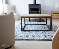 Industrial Style Coffee Tables Ana White Industrial Style Coffee Table As Seen On Diy Network