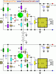 full duplex intercom eeweb community full duplex intercom circuit diagram